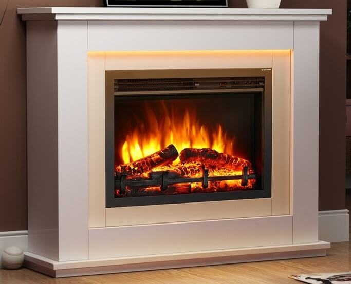 Castleton Electric Fireplace Suite