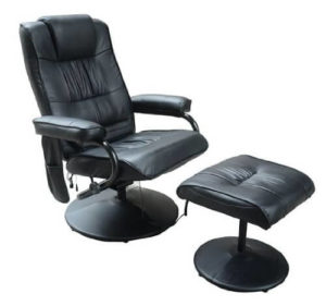 Homcom Deluxe Faux Leather Massage Recliner