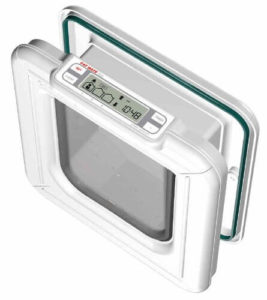 Cat Mate Elite I.D. Disc Cat Flap with Timer Control