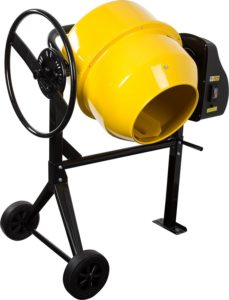 Electric Portable Cement and Concrete Mixer