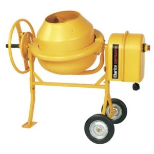 CLARKE 30LTR MINI CEMENT MIXER
