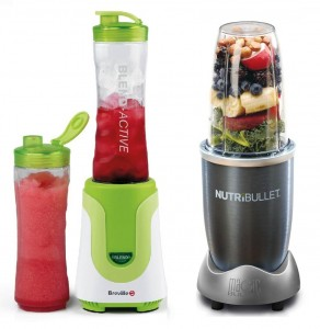 Breville Blend-Active Vs Nutribullet 2015