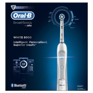 Oral-B Pro 6000 CrossAction Electric Rechargeable Toothbrush