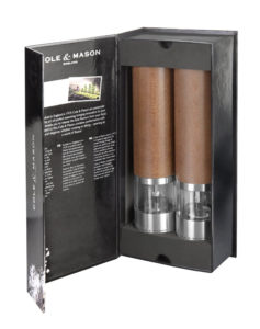 Cole & Mason Precision Cheltenham Electronic Salt & Pepper Mill Gift Set