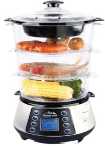 NaturoPureTM 11.5L Digital Food Steamer